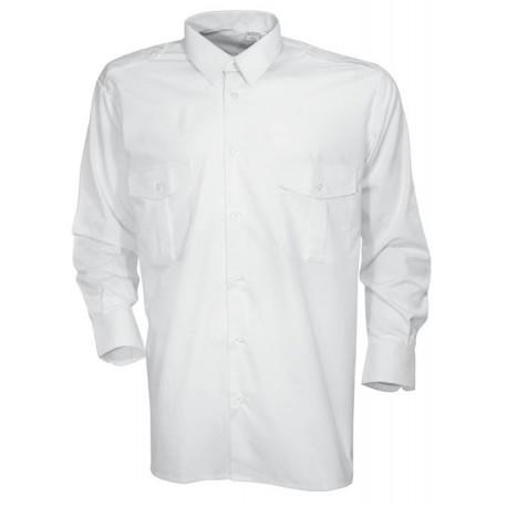 Chemise à manches longues blanche